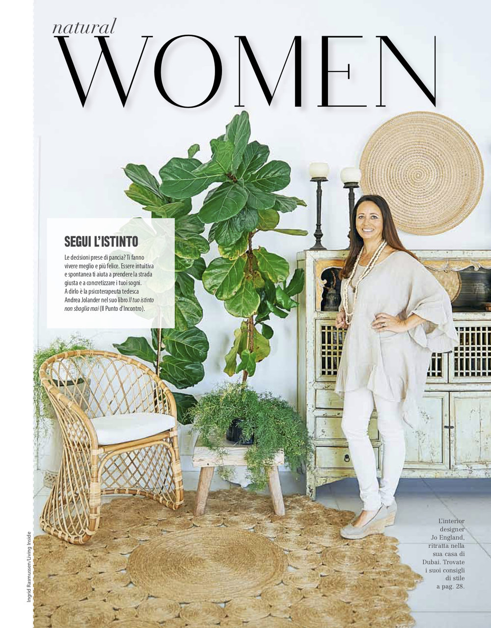 """<span style=""""font-family:Helvetica;letter-spacing:2px;font-size:10px;color:rgba(28,28,28,0.8)""""><b>NATURAL WOMEN</b></span><br><i>june 2018</i>"""