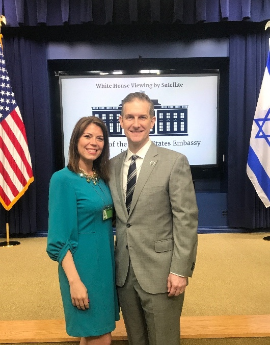 Deamon and Kristine Scapin   Director of Operations  White House, Washington, D.C.