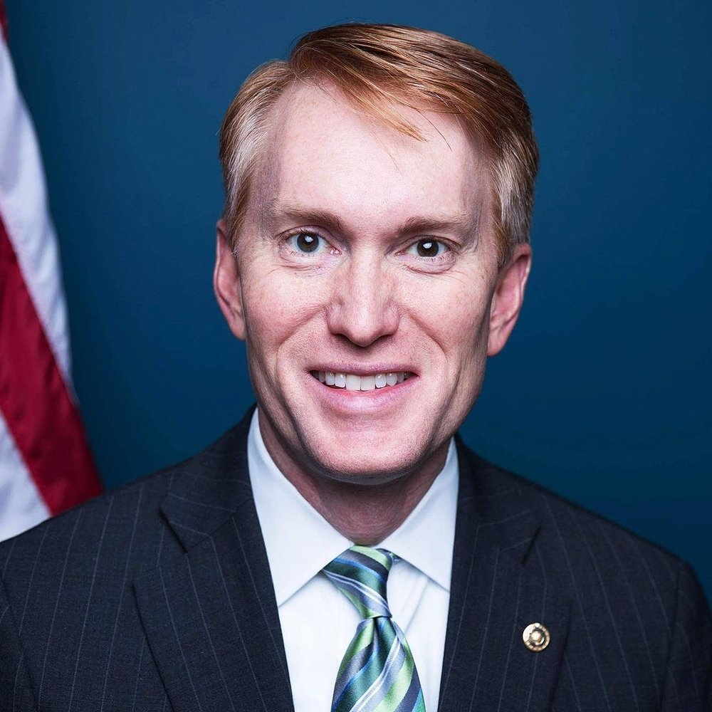 Sen. James Lankford*   U.S. Senator for Oklahoma