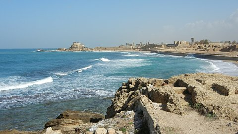 Day 3 - Caesarea Maritima, Mount Carmel, Megiddo And Tiberias