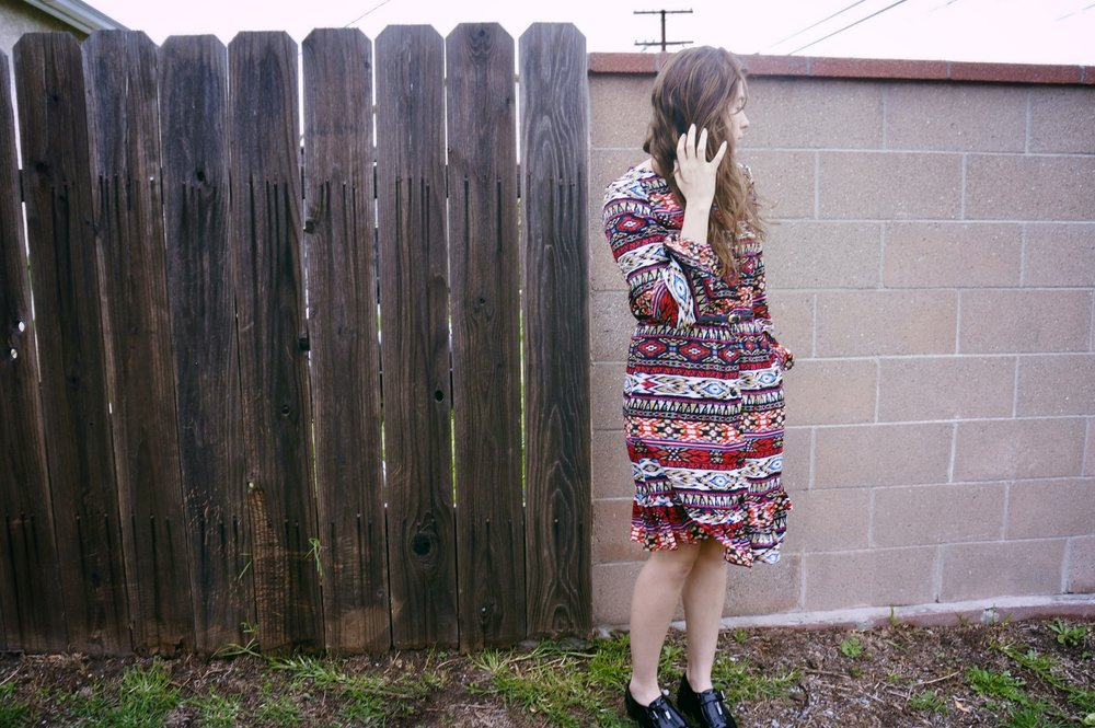 Mccall Long sleeve button up dress .jpg