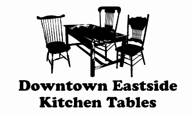 Downtown Eastside Kitchen Tables Project