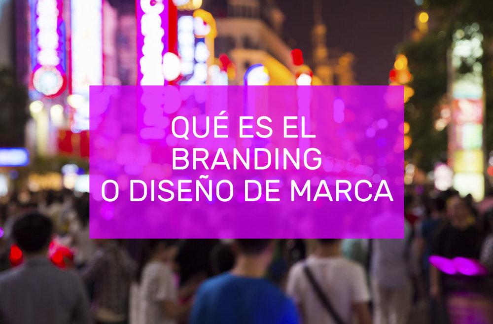 que es el branding o diseno de marca