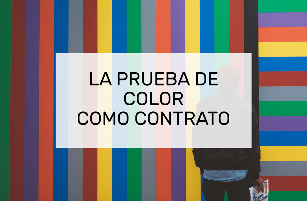 prueba de color proofing