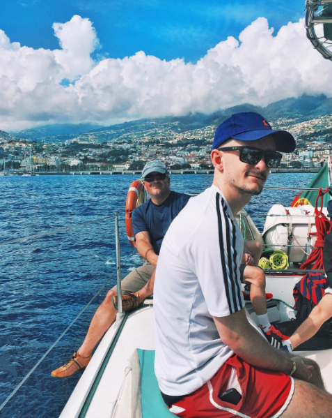 Dad & Me - Madeira