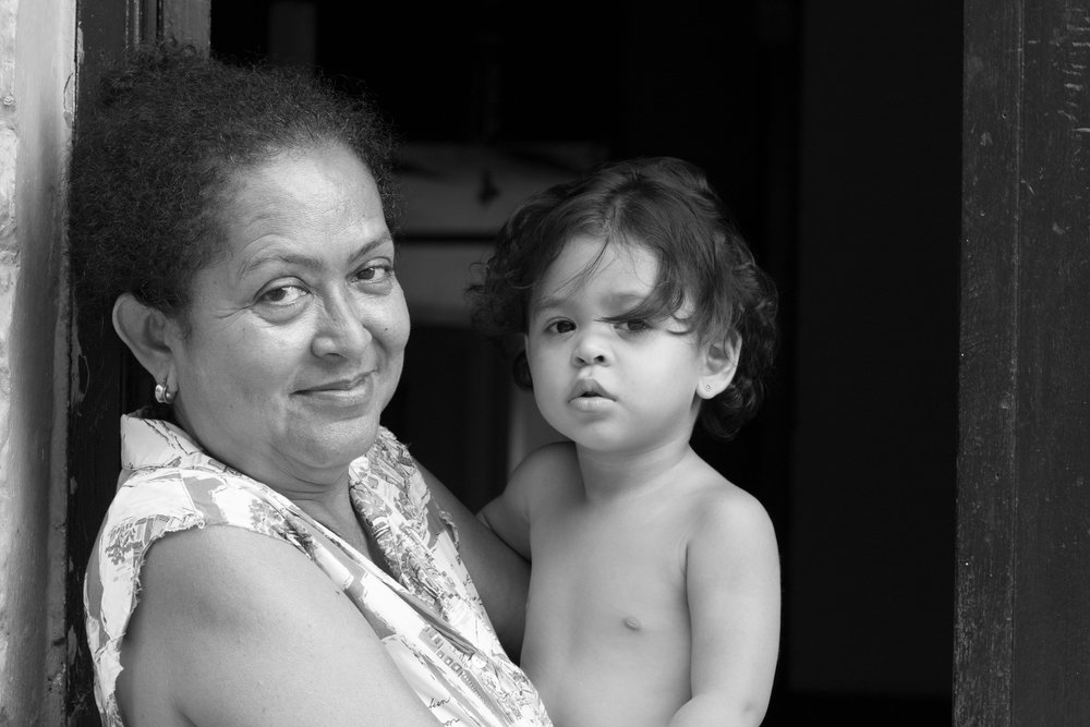 Abuela and Child