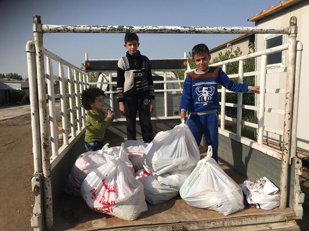 Iraq<strong>Food Bags for Refugees</strong><a>Learn More →</a>