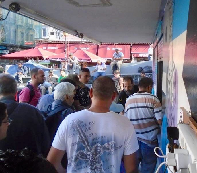 Greece<strong>Feeding the homeless</strong><a>Learn More →</a>