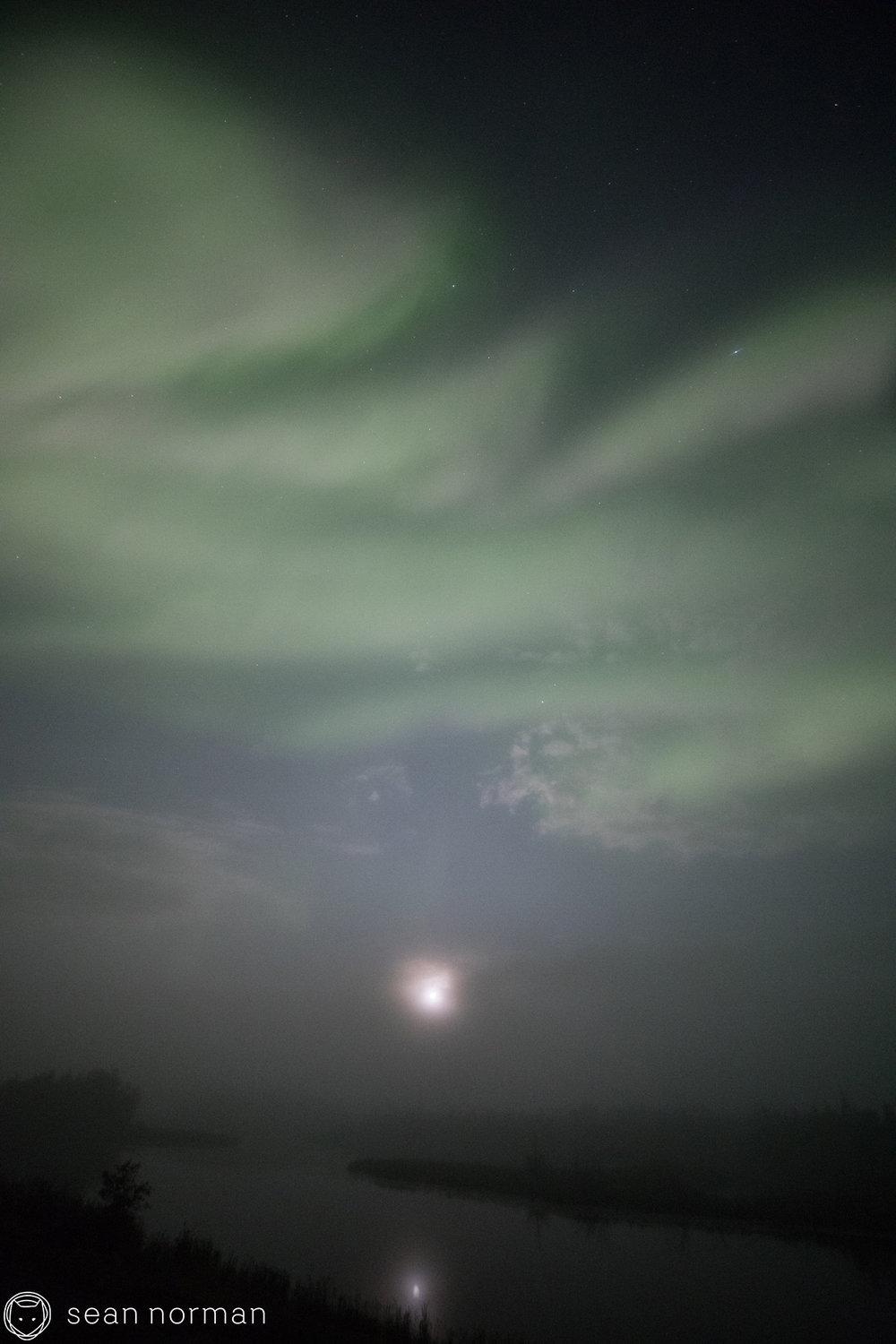 Yellowknife Aurora Viewing - Foggy Night - 2.jpg