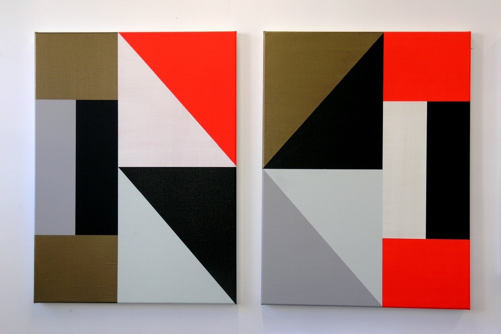 Metascape Diptych