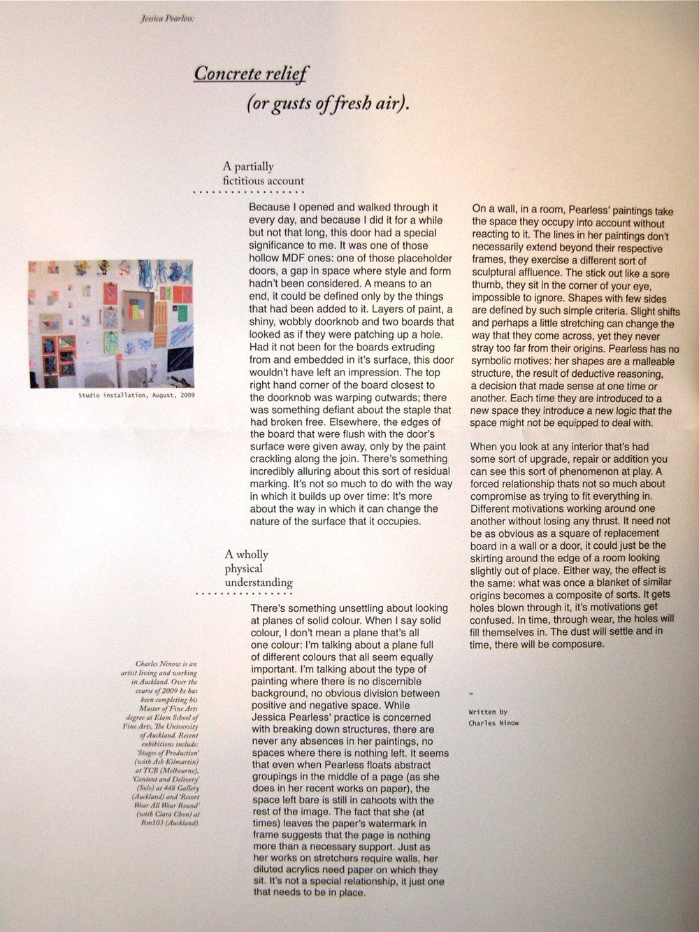 Cut Here Exhibition Publication