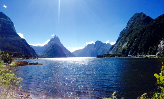If you are down this way check out Milford Sound. Yes, it is touristy, but it's gorgeous!