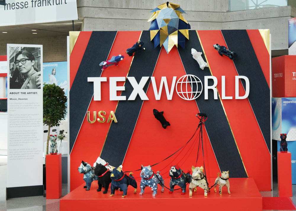 Entrance Exhibition with Tex World in USA