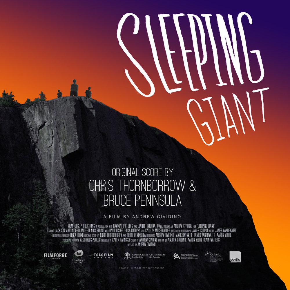 Chris Thornborrow & Bruce Peninsula - Sleeping Giant OST - 2016 (Engineer)