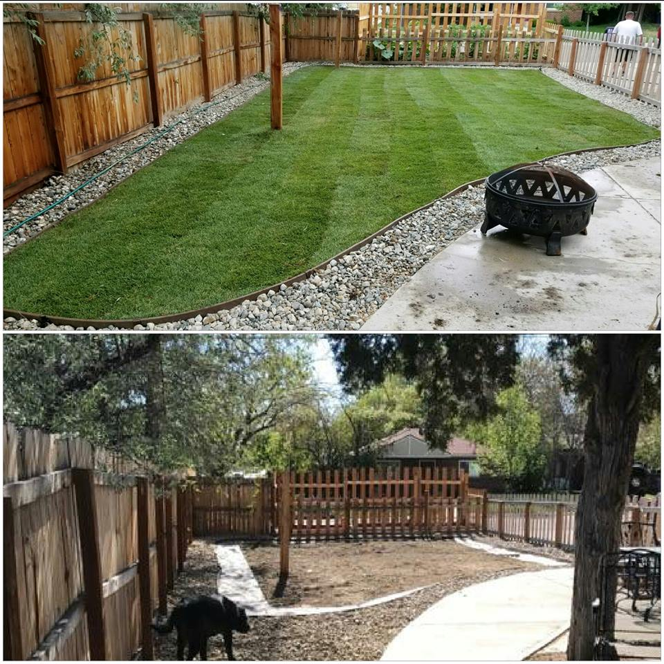 We were able to install new sod for our client at this property. Now they are able to host great gatherings with family and friends! -