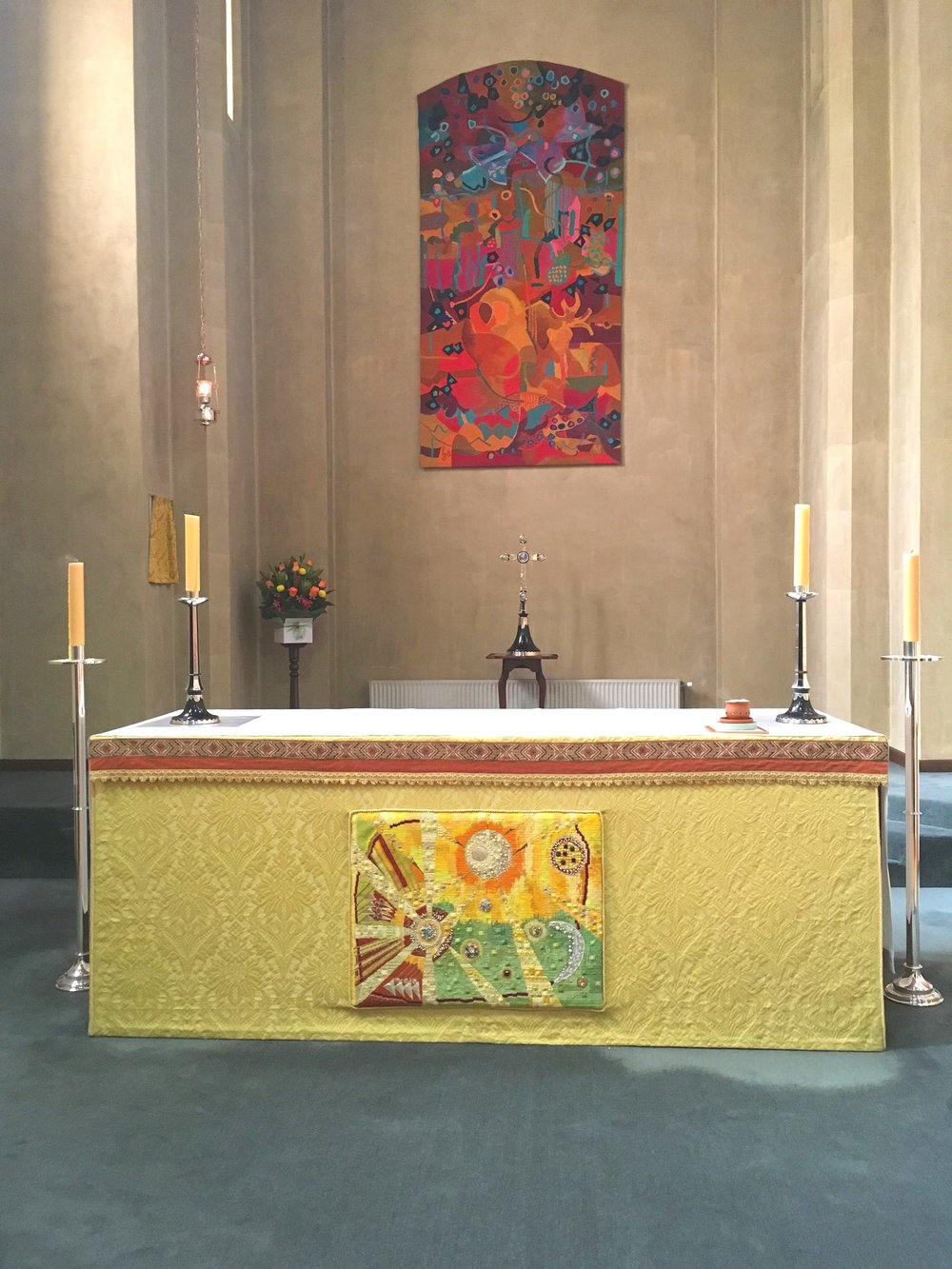 Centrepiece in the Chapel