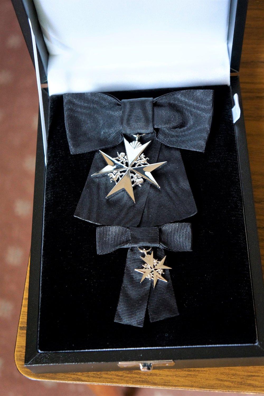 Sister Pamela's insignia