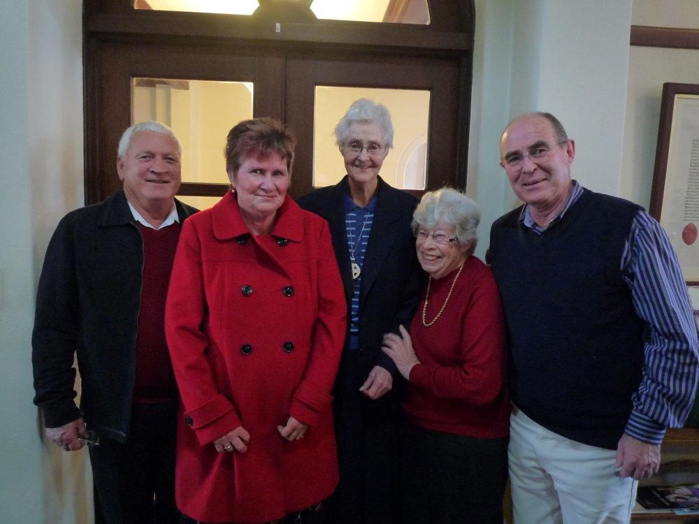 Sr Elizabeth Gwen's family