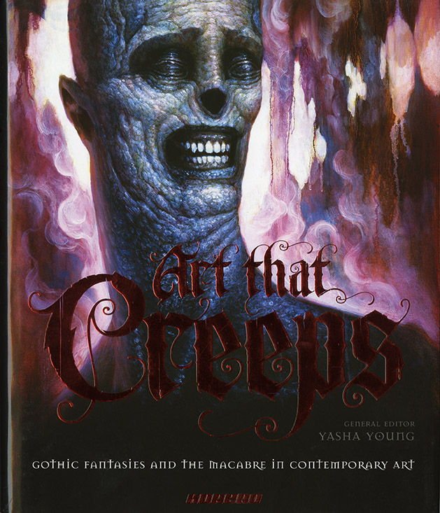 Art That Creeps, Korero, 2009. Featuring Art by Richard A. Kirk.