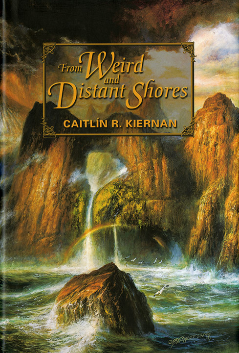 From Weird and Distant Shores, Caitlin R. Kiernan, 2002. Illustrated by Richard A. Kirk.