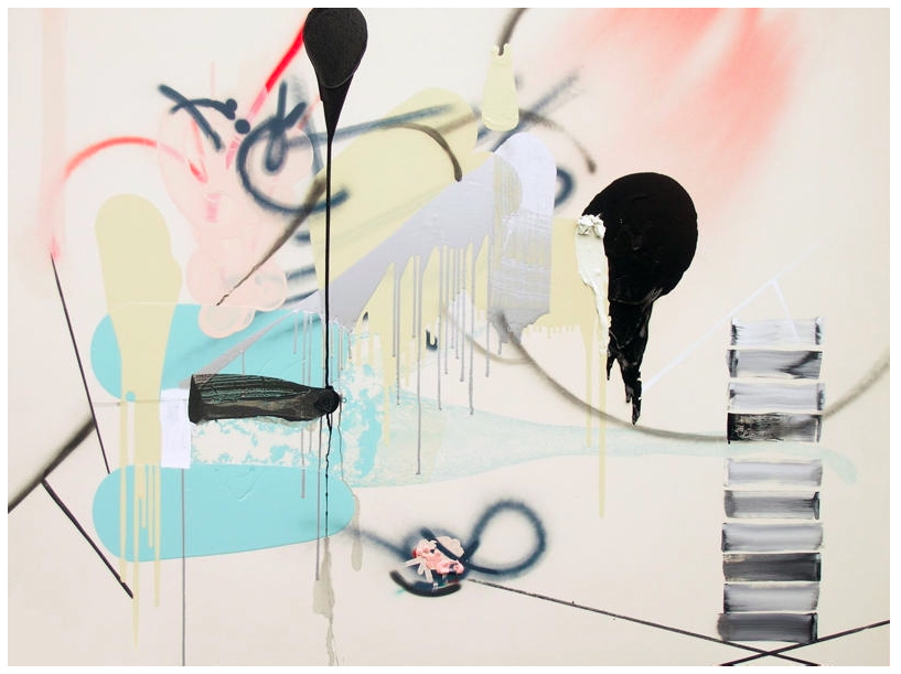 MAggie_Michael,two_worlds_collided,2007_72x96.jpg