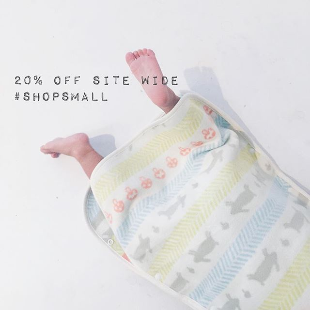 20% off everything until Sunday, including sleepsacks. Thank you so much for continuing to supporting our small business... 4 years and still so grateful we do what we do. 💛#japanmade #madeinjapan