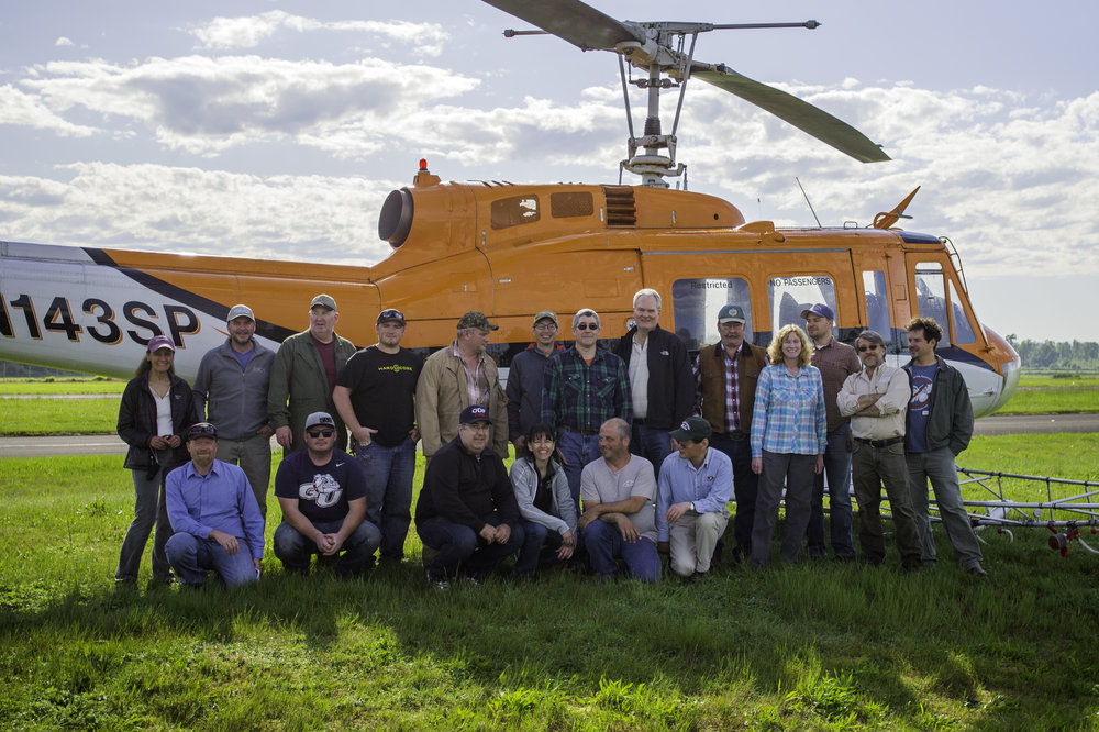 The 2016 Asian gypsy moth interagency eradication team. Credit: © Thomas Shahan, Oregon Department of Agriculture