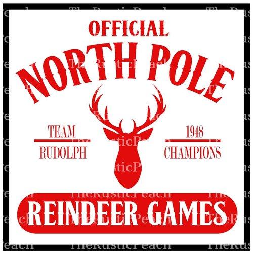 Reindeer Games The Rustic Peach