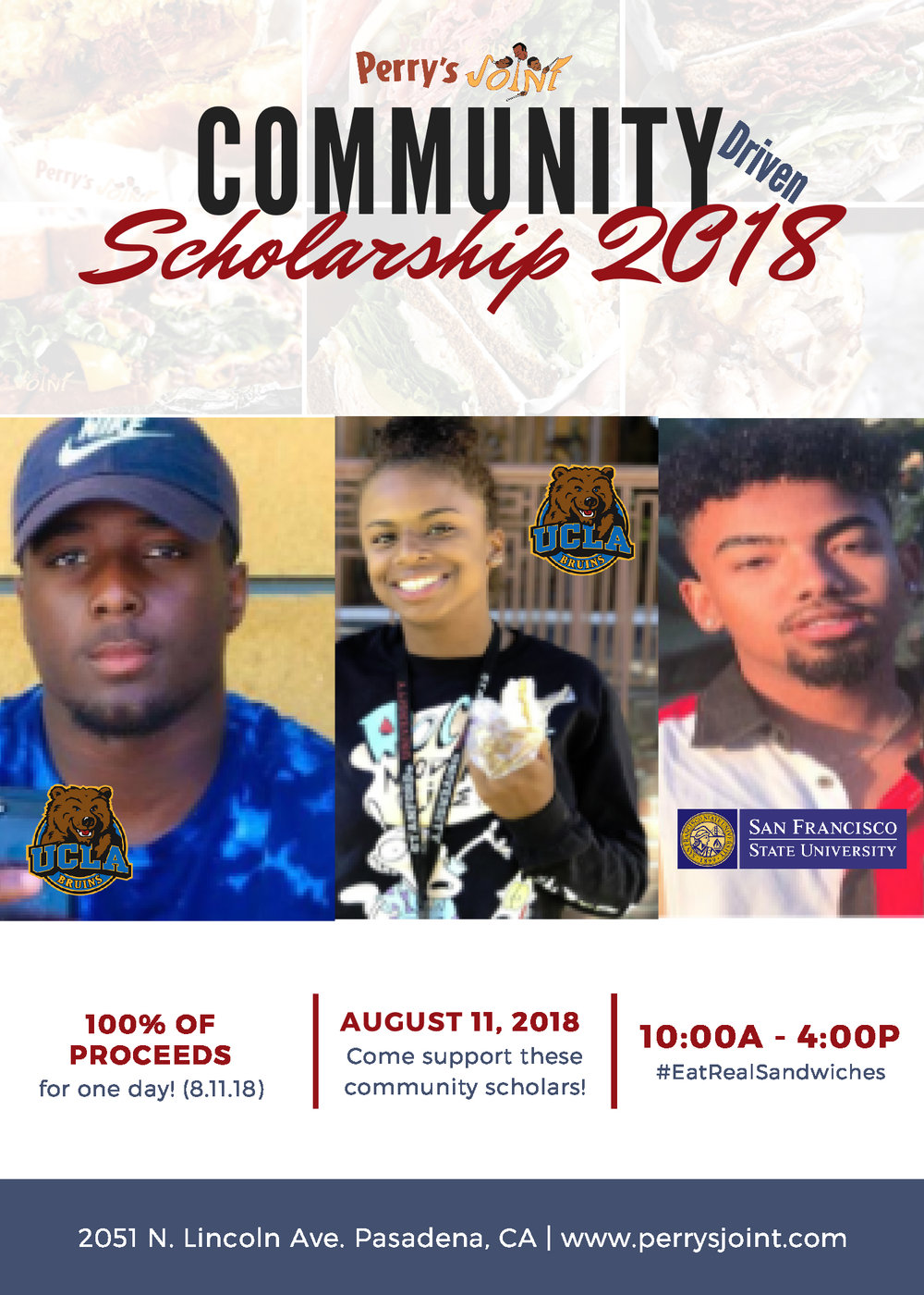 perrys joint community scholarship