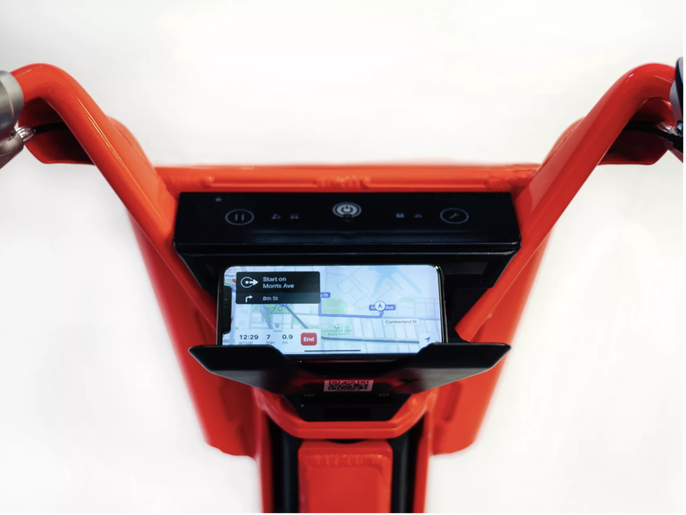 JUMP Bikes Interface