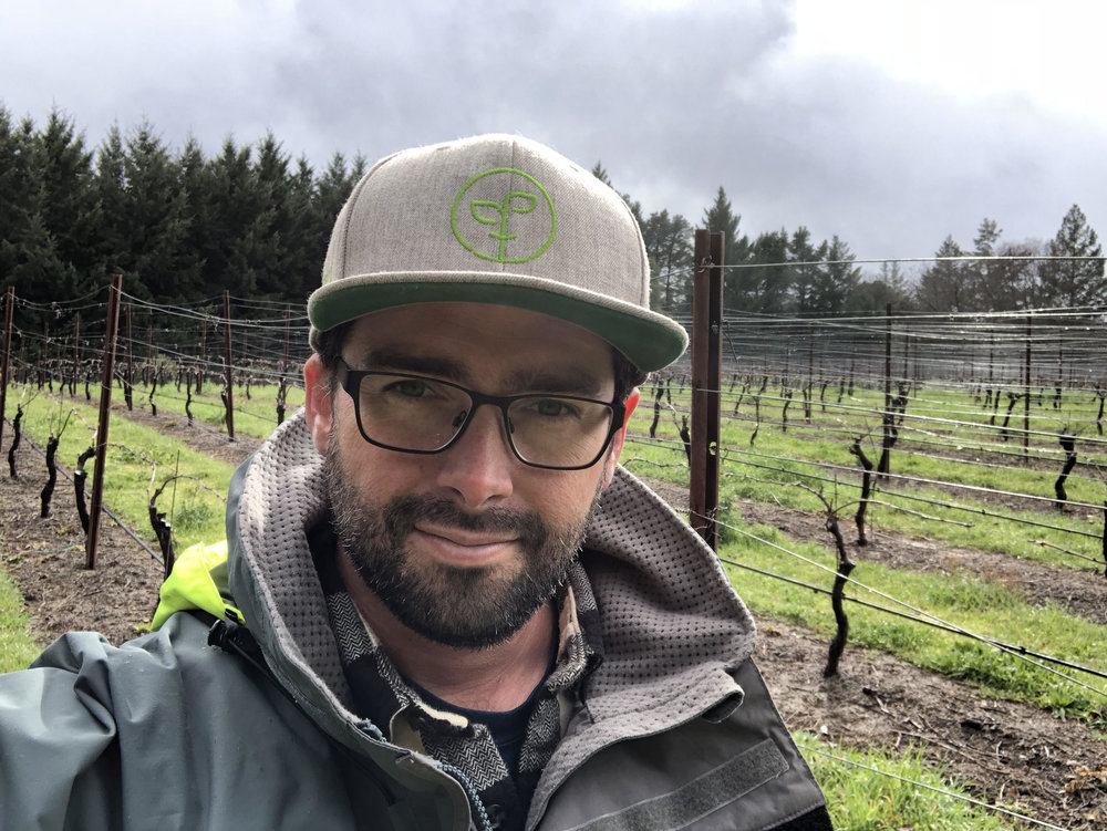 Ken Swegles - Ken is our viticulture consultant through Rhizos Viticulture and Wine Consulting.  He is also associated with Coastal Range Vineyards, managing many regional vineyard properties.