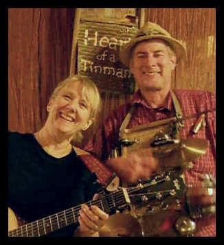 - Band Members, Dwight Christensen and Polly Nelson play acoustic music with intricate percussion, playing songs from all genres and eras, especially today's hits.