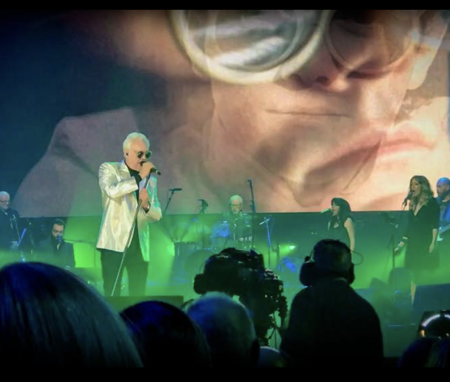 Trevor Horn on Sunday for Sammy