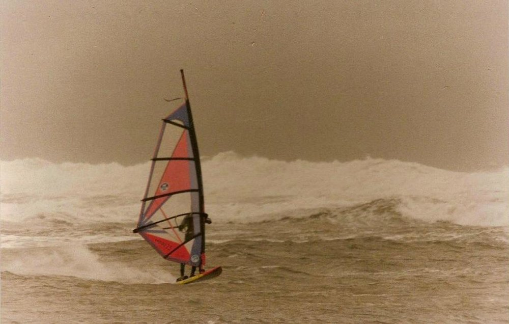 Windsurfing in Northumberland