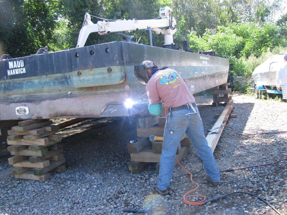 Barge Repair Welding