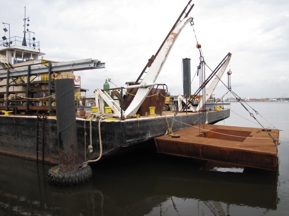 Mini Barge Fabrication