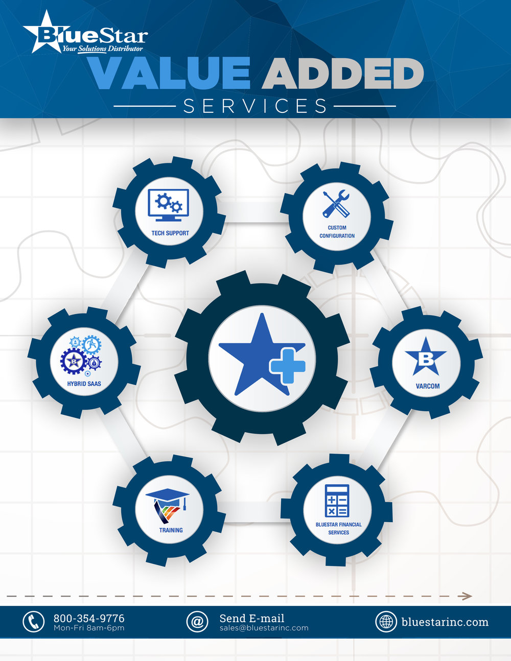 BlueStar Value Addes Services Ad 2016