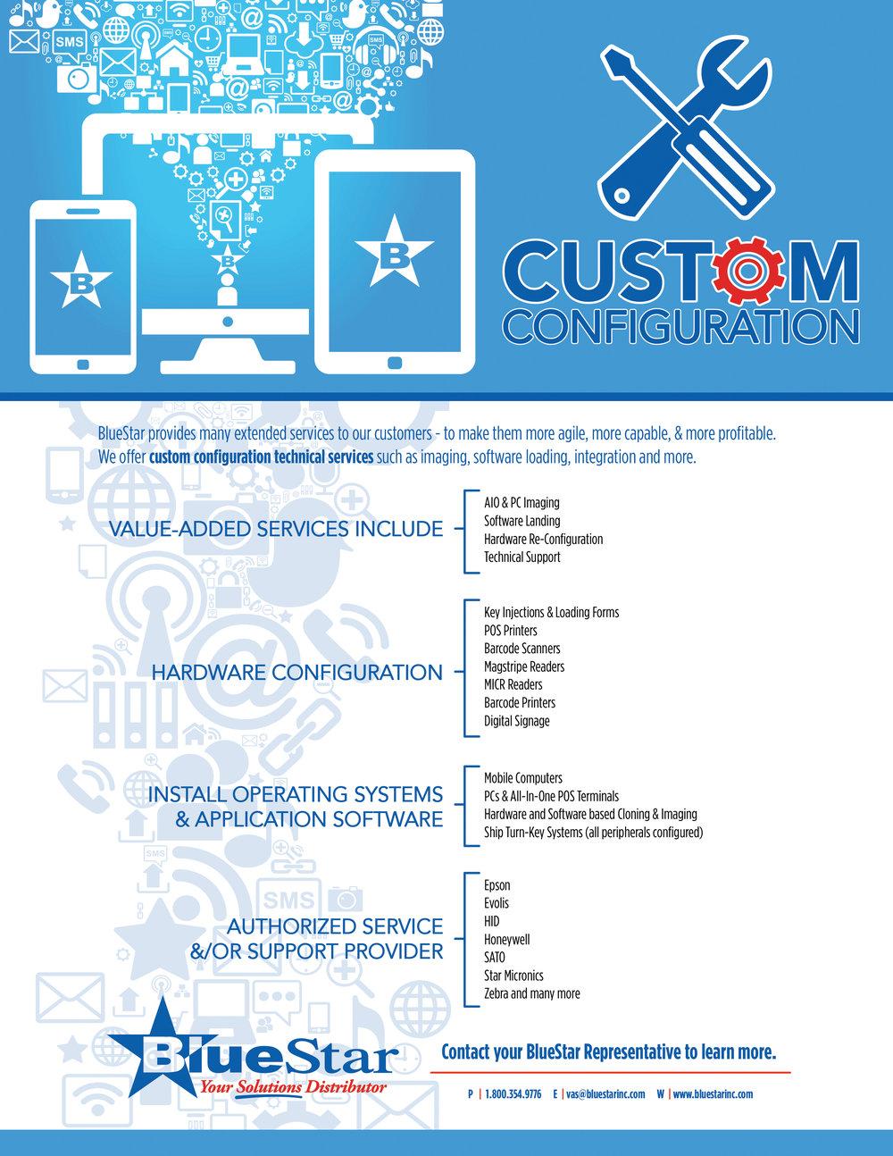 BlueStar Custom Configuration 2016