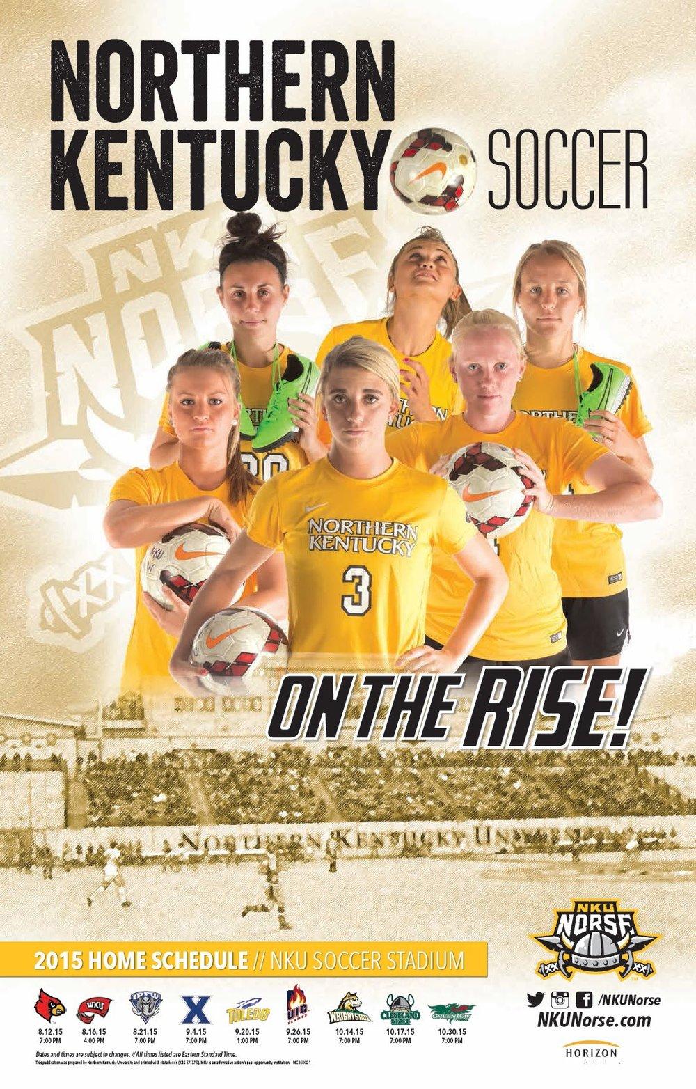 NKY Women's Soccer Flyer