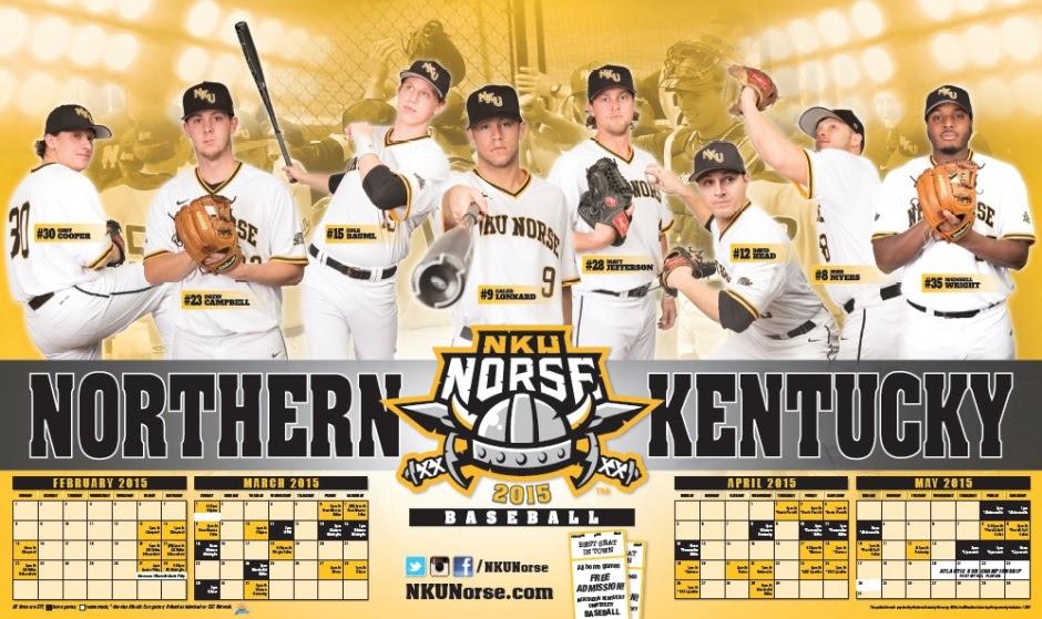 NKU Men's Baseball Flyer