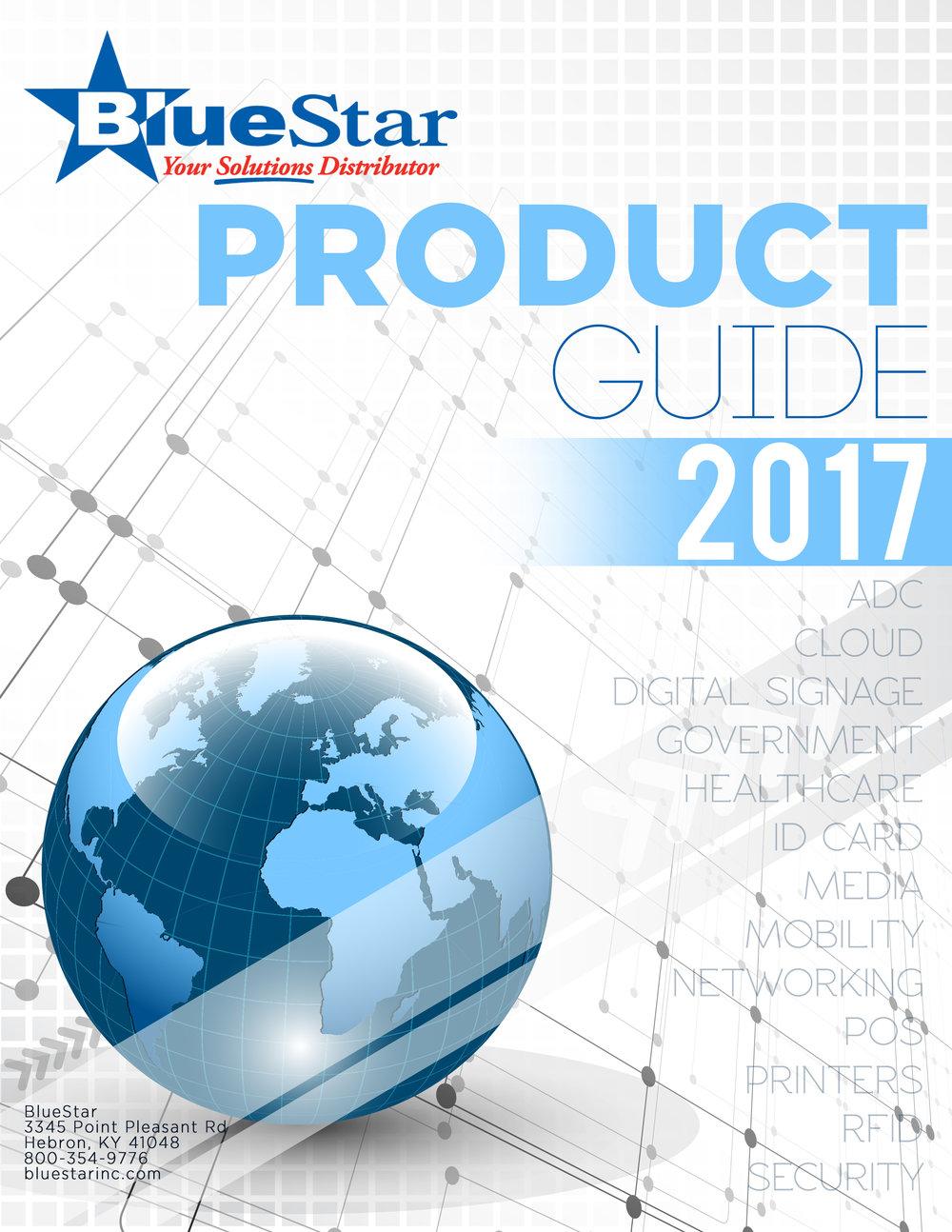 BlueStar Inc Product Guide 2017