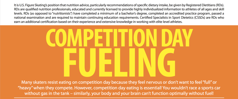 Read More Here: Competition Day Fueling