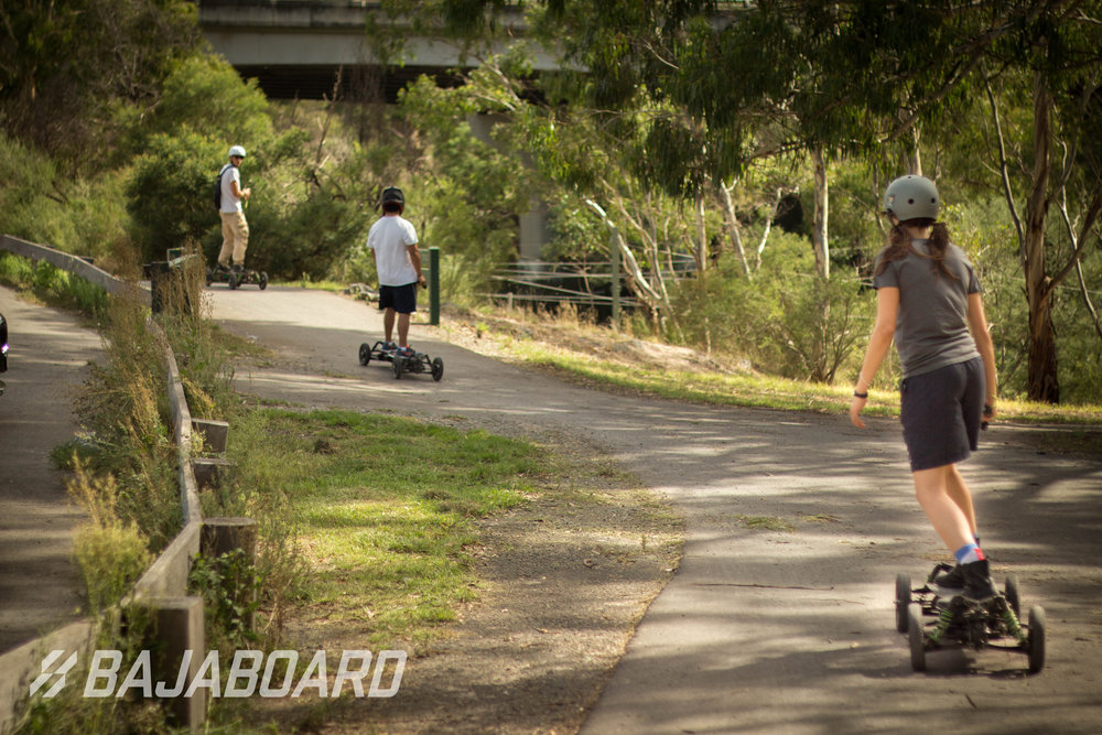 Grab your team, hustle up some friends, fire up your board and hit your local paths