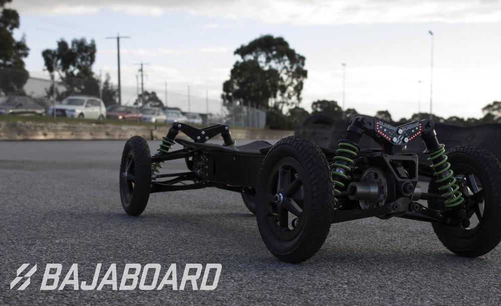 Built for speed, built for stealth. We're loving this all black BajaBoard shot.
