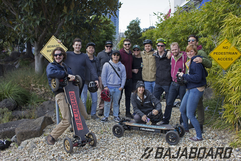 The first team of riders that such a blast. Many of these people are running businesses of their own in Melbourne.