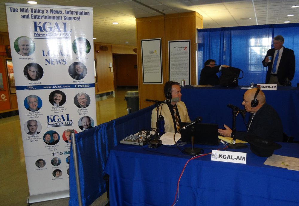 KGAL-AM Albany broadcast live from the 2015 OAB Day at the Capitol.