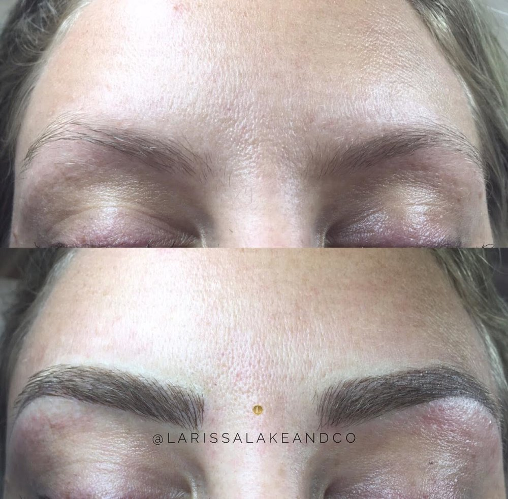 Microblading - Sarah | 550Stephanie | 650Touch Ups | 250*Please call for more information and to request our disclosure to reserve your treatment*The rates differ due to international training