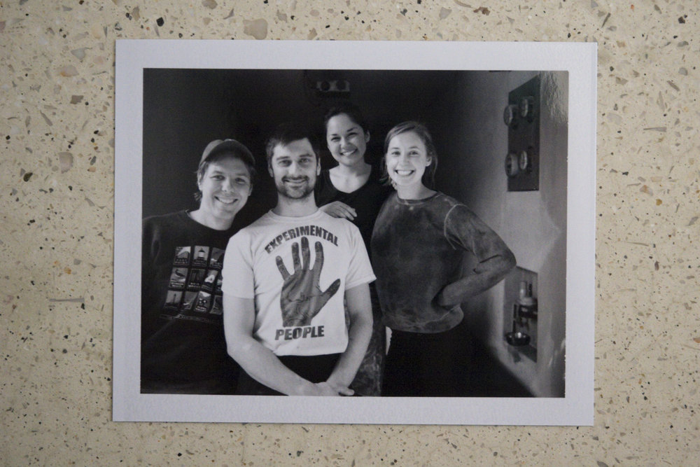 The original PIchón team. From right to left: PJ Rountree; Kenny Curran; Niki Nakazawa; Emma Rosenbush