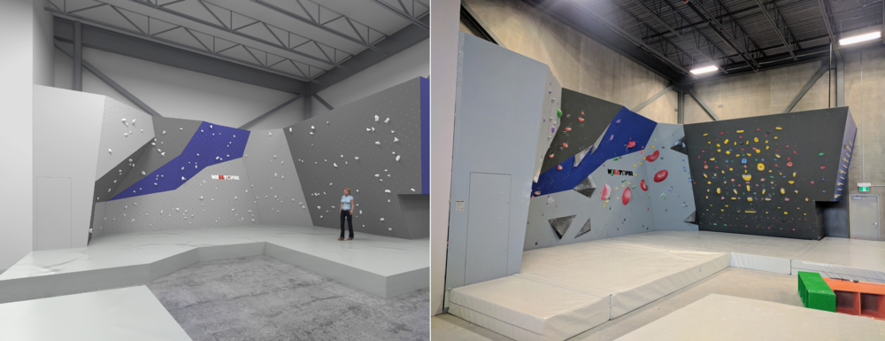 Session Wall & Training Wall