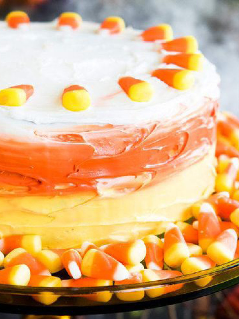 Ombre Candy Corn Cake   BuzzFeed